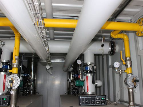 containerized boiler house