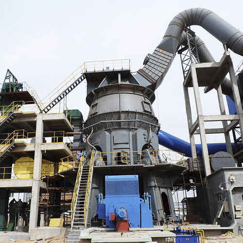 roller mill / vertical / for cement / for ore