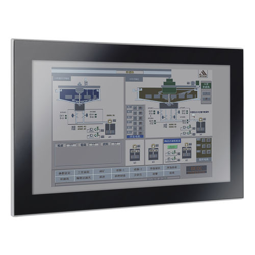 LCD panel PC / capacitive touch screen / 18.5