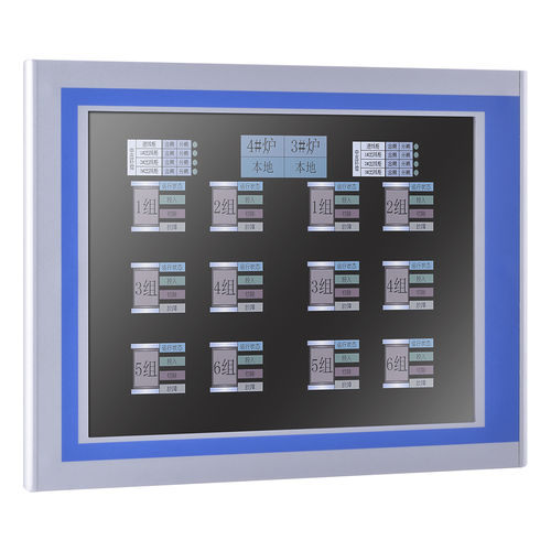 TFT-LCD monitor / resistive touch screen / 5-wire resistive touch screen / 12