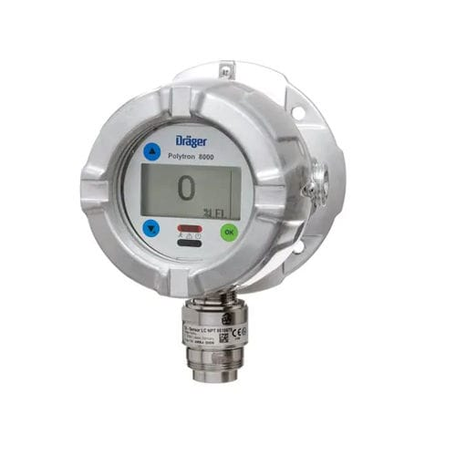 gas detector / flammable gas / digital / integrated