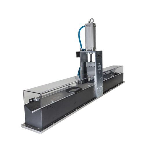 guillotine cutting machine / for metal / for hoses / for industrial applications