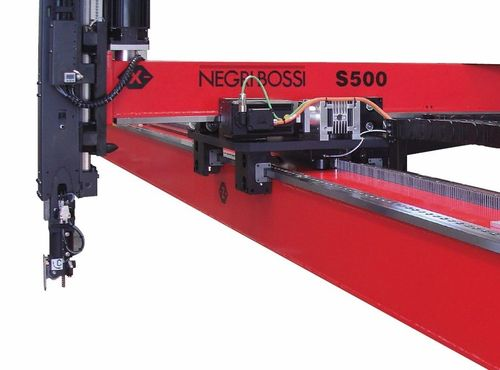 Cartesian robot / 3-axis / 2-axis / for injection molding machines