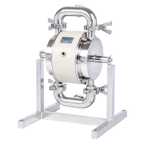 food product pump / double-diaphragm / industrial / for the food industry
