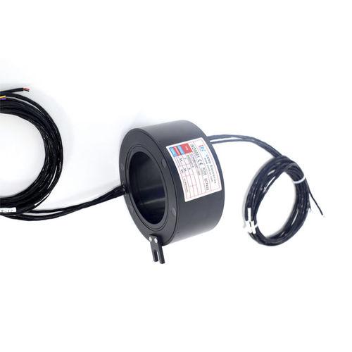 through-bore slip ring / for wind turbines / for generators / IP54
