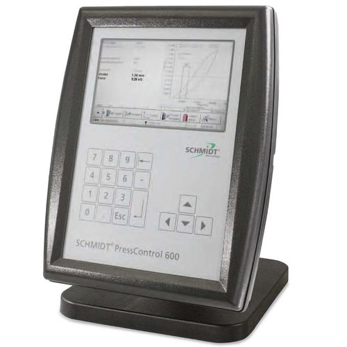 press control system / with programmable logic controller (PLC) / with touchscreen