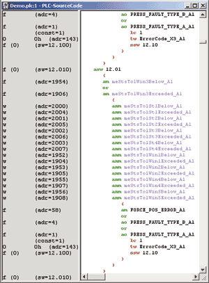 programming software / development / PLC