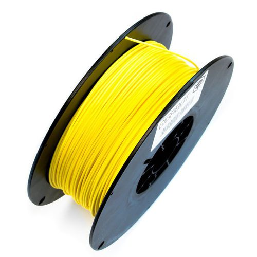 3D printer PLA filament / 2,85 mm / black / white