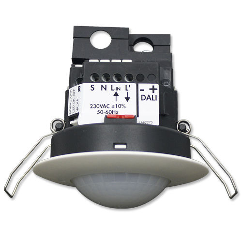 presence detector / LED / ceiling-mounted / indoor