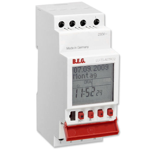 digital time switch / DIN rail