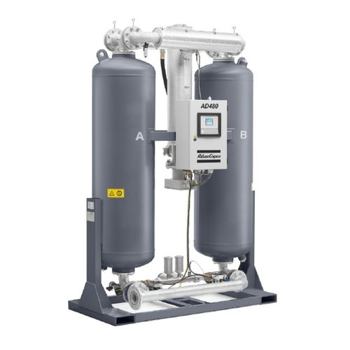 heat-of-compression compressed air dryer