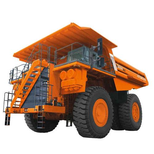 rigid dump truck / electric / diesel / mining and quarrying