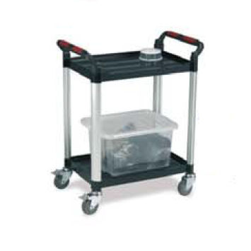 service cart / aluminum / platform / 3 levels