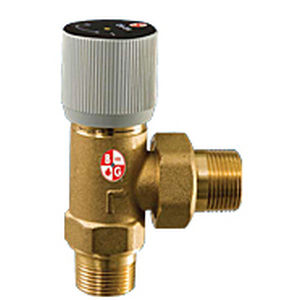 control valve / for water / differential-action / bypass