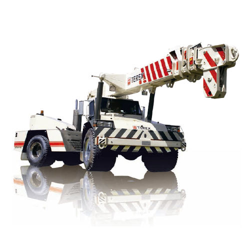 mobile crane / articulated / with counterweight / lifting