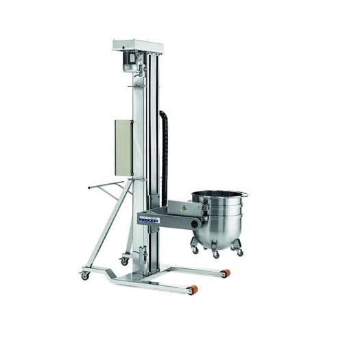 batch mixer drum lifter