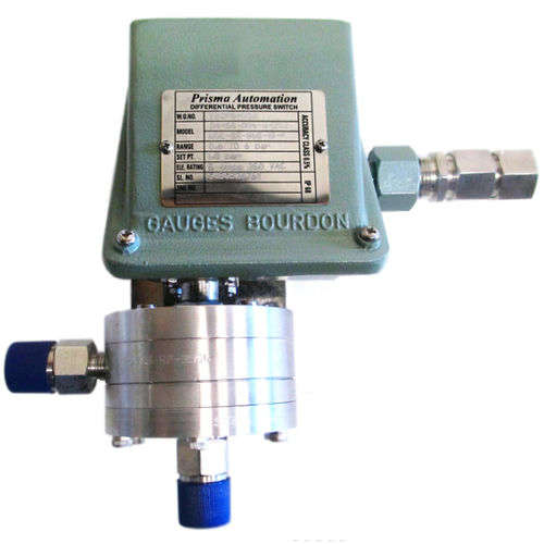 differential pressure switch / high-accuracy / flameproof / IP67