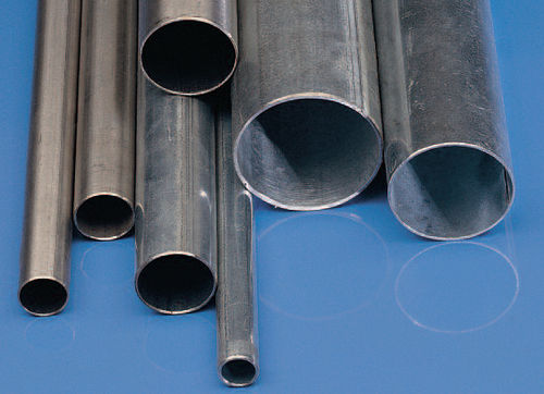 protection pipe / for electrical cables / steel