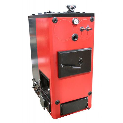 hot water boiler / biogas / compact