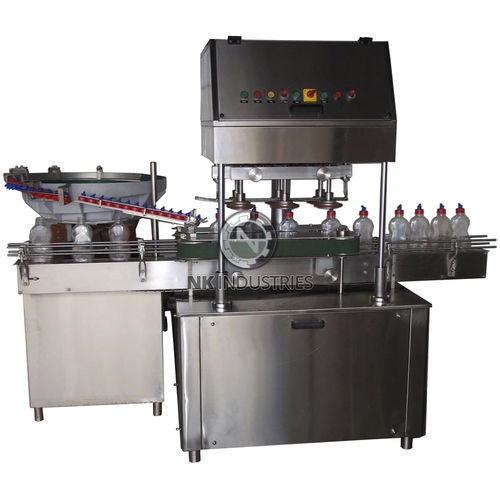 linear screw capping machine