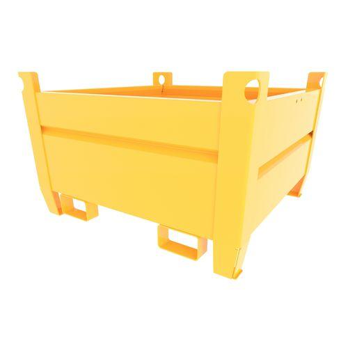metal intermodal container