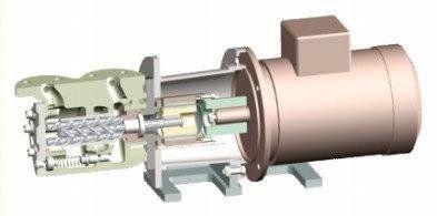 fuel oil pump / for chemicals / self-priming / 3-screw