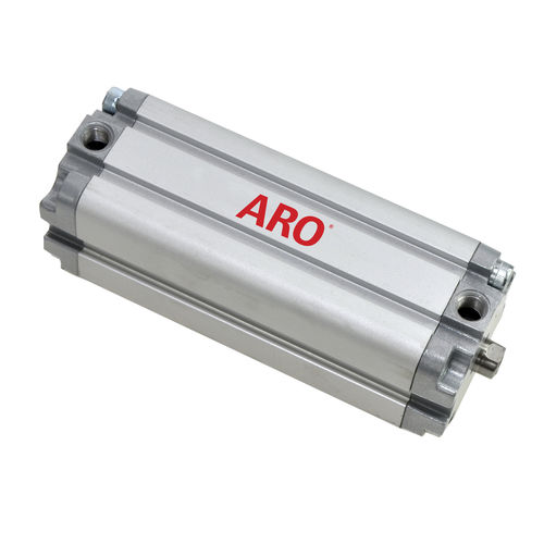 pneumatic cylinder / ISO / compact