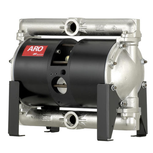 double-diaphragm pump / paint / for adhesives / for solvents