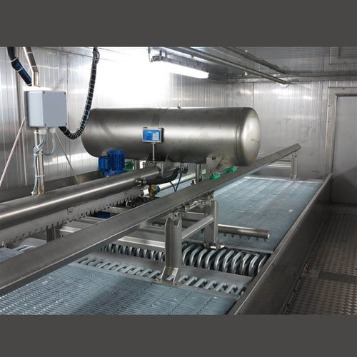 tunnel freezer / process / for fruit / vegetable
