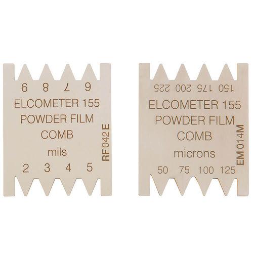 wet film comb thickness gauge / coating / powder / analog