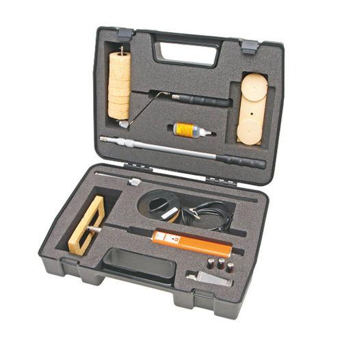 portable pinhole detector / wet sponge
