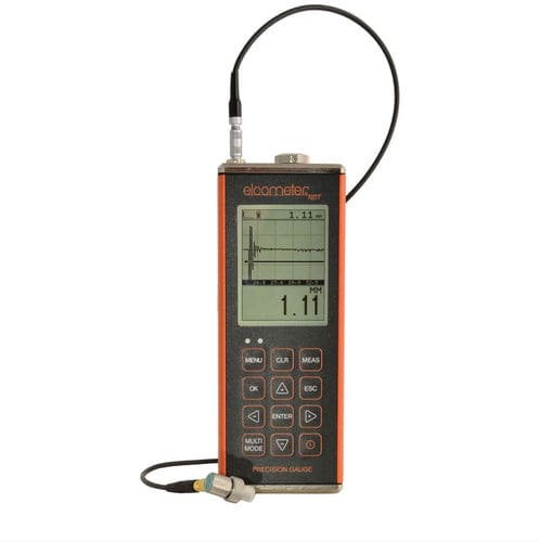 materials thickness gauge / ultrasonic / A-scan / B-scan