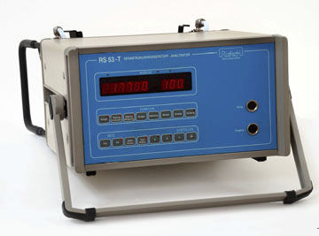 total hydrocarbon analyzer / combustion / portable / for monitoring gas emissions