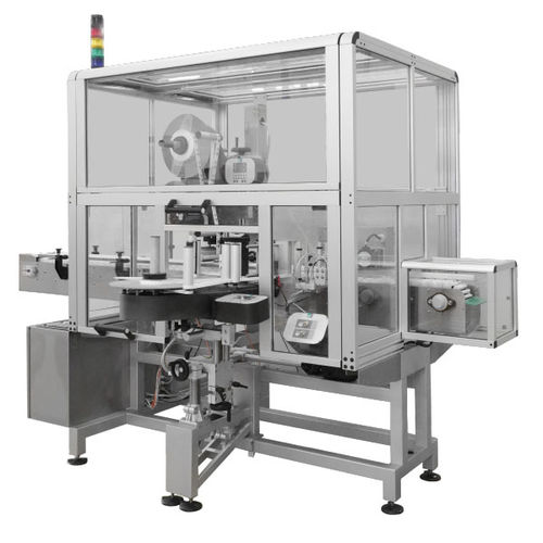 automatic labelling machine / for the beverage industry / for the cosmetics industry / for the food industry