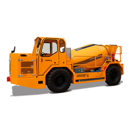 underground mining mixer truck / diesel