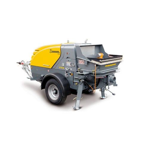 stationary concrete pump / for construction