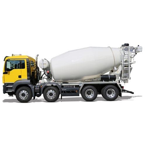 concrete mixer truck / diesel