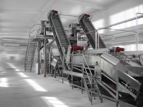 calibration fruit juice production line