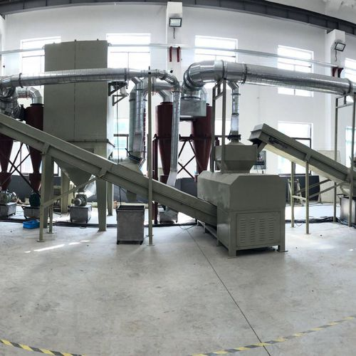 printer toner recycling line