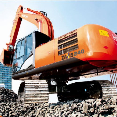 medium excavator / crawler / diesel / construction