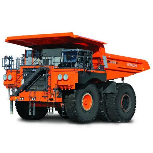 rigid dump truck / diesel / mining and quarrying