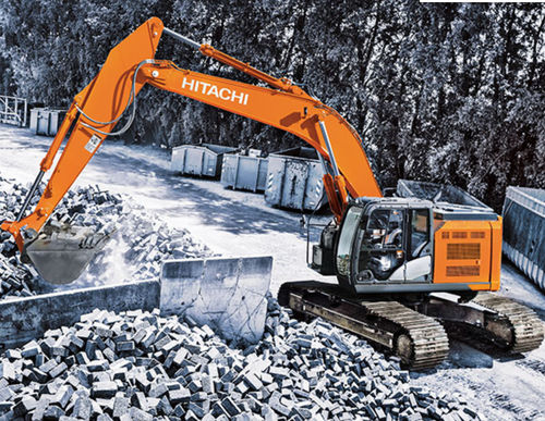 short tail swing excavator