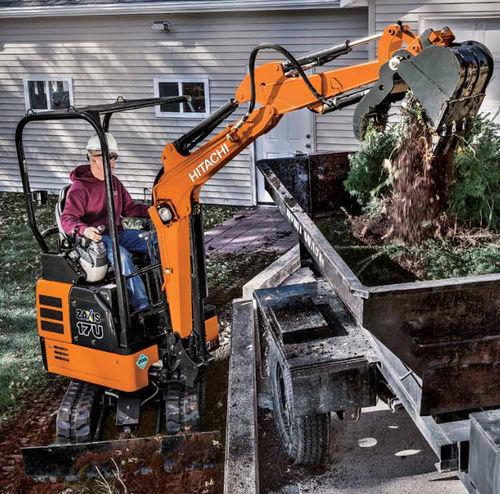 mini excavator / crawler / Tier 4 - final / construction