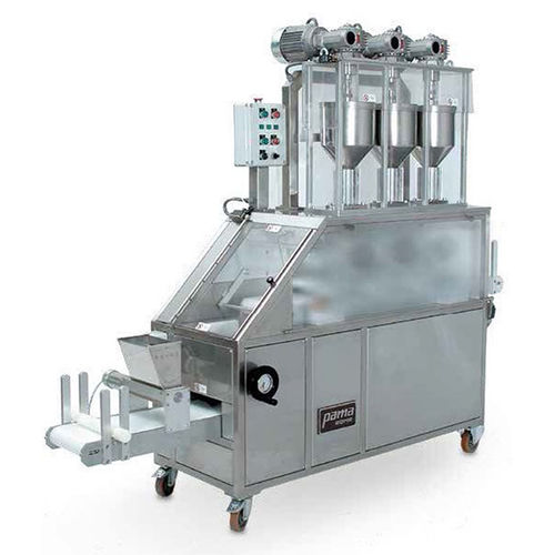 automatic dough sheeter / double color
