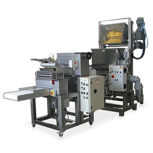 fresh pasta production line / fettuccine / stabilization / pasteurization