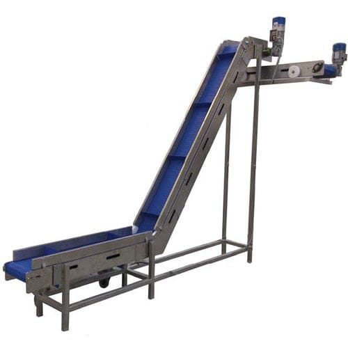 modular conveyor belt / stainless steel