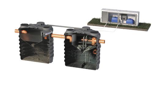 organic sewage treatment plant / activated sludge / physico-chemical