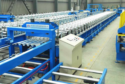 profile roll forming machine / PLC-controlled / automatic / cutting