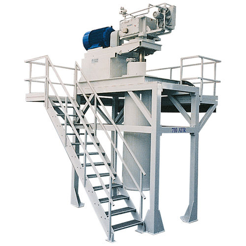 knife mill / vertical / dry milling / cylindrical
