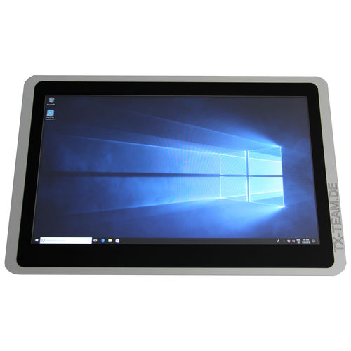LCD panel PC / PCAP capacitive touch screen / 18.5